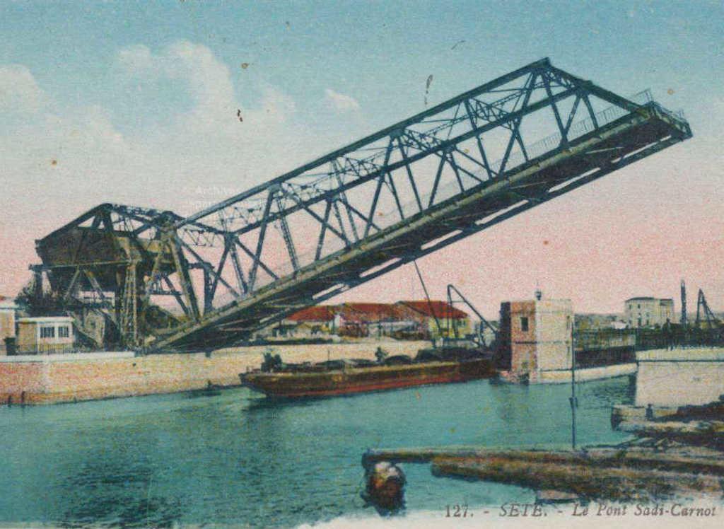 Sète Pont-sadi-carnot-1914 - Ouxita