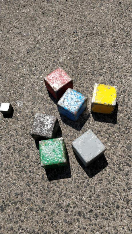 Boules carrées à Sète - Ouxita